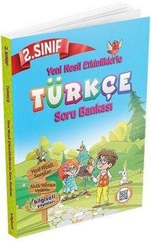 Bilgiseli Yayınları 2. Sınıf Türkçe Yeni Nesil Etkinliklerle Soru Bankası