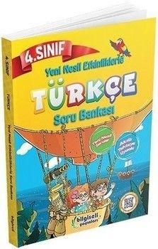 Bilgiseli Yayınları 4. Sınıf Türkçe Yeni Nesil Etkinliklerle Soru Bankası