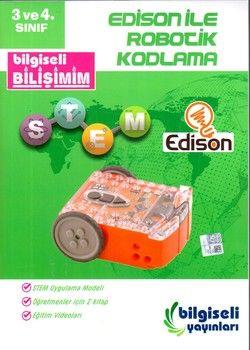 Bilgiseli Yayınları 3. Sınıf ve 4. Sınıf Edison ile Robotik Kodlama