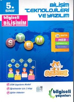 Bilgiseli Yayınları 5. Sınıf Bilişim Teknolojileri ve Yazılım