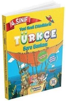 Bilgiseli Yayınları4. Sınıf Türkçe Yeni Nesil Etkinliklerle Soru Bankası