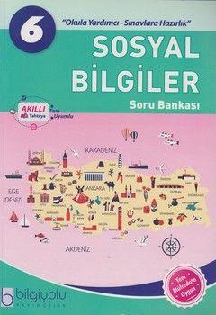 Bilgiyolu Yayıncılık 6. Sınıf Sosyal Bilgiler Soru Bankası