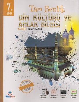 Bilimyolu Yayıncılık 7. Sınıf Din Kültürü ve Ahlak Bilgisi Tam Benlik Soru Bankası