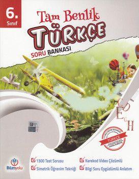 Bilimyolu Yayıncılık 6. Sınıf Tam Benlik Türkçe Soru Bankası