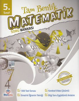 Bilimyolu Yayıncılık 5. Sınıf Tam Benlik Matematik Soru Bankası