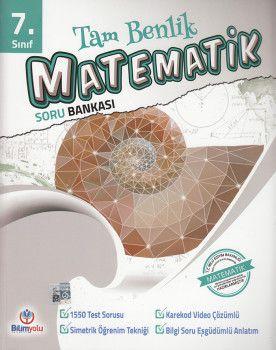 Bilimyolu Yayıncılık 7. Sınıf Tam Benlik Matematik Soru Bankası