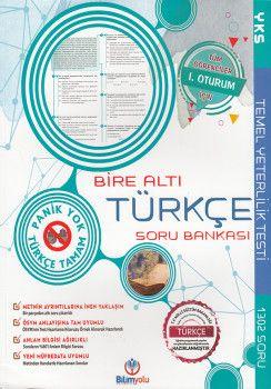 Bilimyolu Yayıncılık TYT Bire Altı Türkçe Soru Bankası