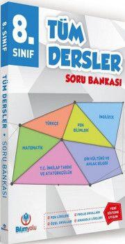 Bilimyolu Yayıncılık 8. Sınıf Tüm Dersler Soru Bankası