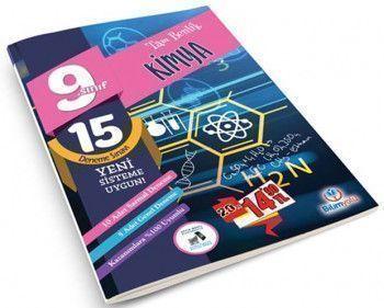 Bilimyolu Yayıncılık 9. Sınıf Tam Benlik Kimya 15 Deneme Sınavı