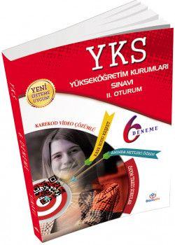 Bilimyolu Yayınları YKS 2. Oturum AYT 6 Deneme Karekod Video Çözüm Anında Sınav Analizi