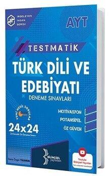 Bilinçsel Yayınları  AYT Testmatik Türk Dili ve Edebiyatı Deneme Sınavları