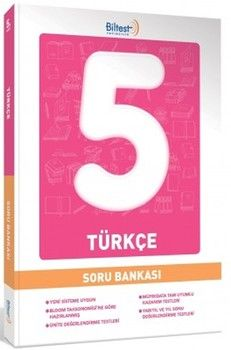 Biltest Eğitim Yayıncılık 5. Sınıf Türkçe Soru Bankası