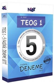 BiNot Yayınları 8. Sınıf TEOG 1 5 Fasikül Deneme Seti