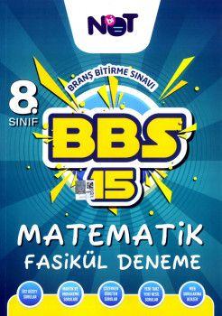 BiNot Yayınları 8. Sınıf Matematik BBS 15 Fasikül Deneme