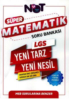 BiNot Yayınları LGS Matematik Süper Soru Bankası