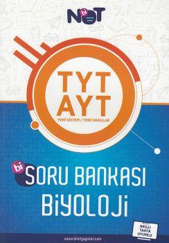 BiNot Yayınları TYT AYT Bi Biyoloji Soru Bankası
