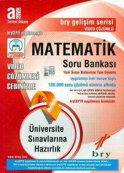 Birey Yayınları A Serisi Temel Düzey Matematik Video Çözümlü Soru Bankası Gelişim Serisi