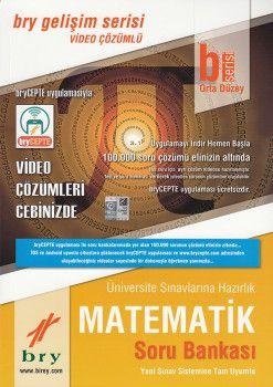 Birey Yayınları B Serisi Orta Düzey Matematik Video Çözümlü Soru Bankası Gelişim Serisi