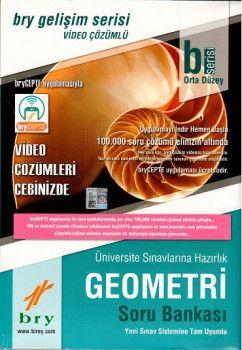 Birey Yayınları B Serisi Orta Düzey Geometri Video Çözümlü Soru Bankası Gelişim Serisi