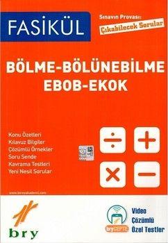 Birey Yayınları Bölme Bölünebilme Ebob Ekok Sınavın Provası Çıkabilecek Sorular Fasikül