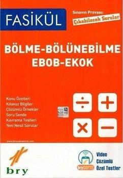 Birey Yayınları Bölme Bölünebilme Ebob Ekok Fasikülleri