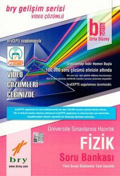 Birey Yayınları Fizik B Orta Düzey Video Çözümlü Soru Bankası Gelişim Serisi