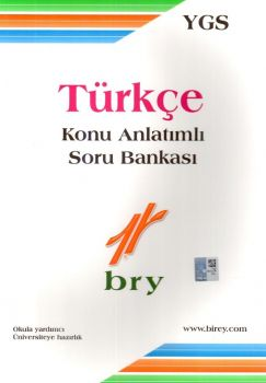 Birey Yayınları YGS Türkçe Konu Anlatımlı Soru Bankası