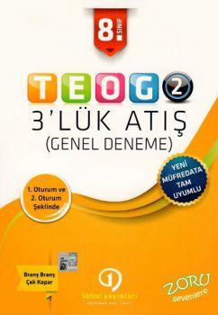 Birincil Yayınları 8. Sınıf TEOG 2 Genel Deneme 3 lük Atış