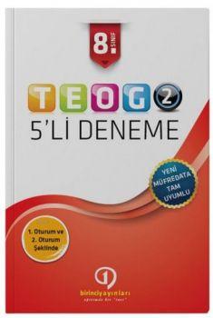 Birincil Yayınları 8. Sınıf TEOG 2. Dönem 5 li Deneme Seti