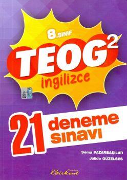 Birkent Yayınları 8 . Sınıf TEOG 2 İngilizce 21 Deneme Sınavı