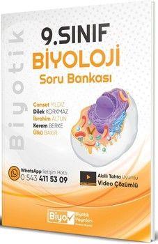 Biyotik Yayınları 9. Sınıf Biyoloji Biyotik Soru Bankası