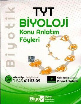 Biyotik Yayınları TYT Biyoloji Konu Anlatım Föyleri