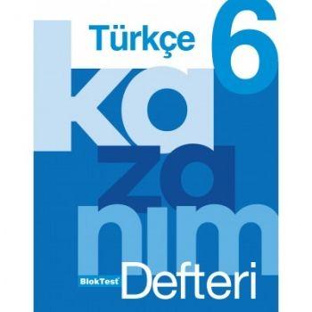 Blok Test Yayınları 6. Sınıf Türkçe Kazanım Defteri