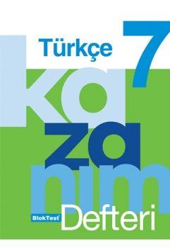 Blok Test Yayınları 7. Sınıf Türkçe Kazanım Defteri