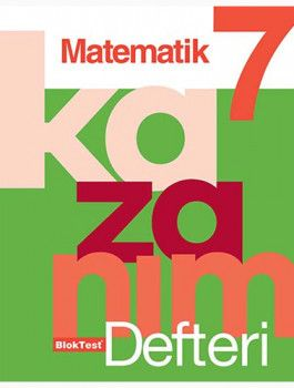 Blok Test Yayınları 7. Sınıf Matematik Kazanım Defteri