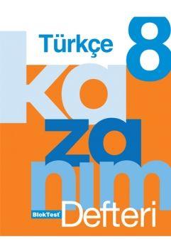 Blok Test Yayınları 8. Sınıf Türkçe Kazanım Defteri