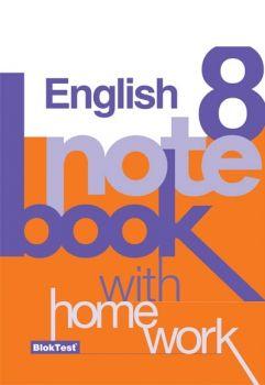 Blok Test Yayınları 8. Sınıf İngilizce Notebook Kazanım Defteri
