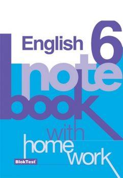 Blok Test Yayınları 6. Sınıf İngilizce Notebook Kazanım Defteri
