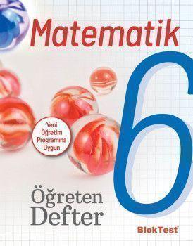 Bloktest Yayınları 6. Sınıf Matematik Bloktest Öğreten Defter