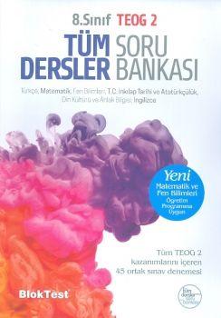 Bloktest Yayınları 8. Sınıf TEOG 2 Tüm Dersler Soru Bankası
