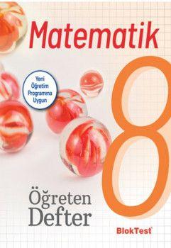Bloktest Yayınları 8. Sınıf Matematik Öğreten Defteri