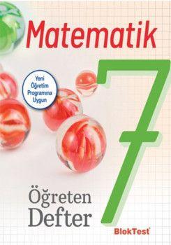 Bloktest Yayınları 7. Sınıf Matematik Öğreten Defter
