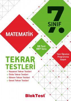 Bloktest Yayınları 7. Sınıf Matematik Tekrar Testleri