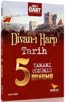Boran Akademi Yayıncılık 2017 ÖABT Divan-ı Harp Tarih Öğretmenliği Tamamı Çözümlü 5 Deneme