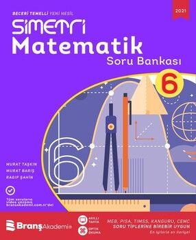 Branş Akademi 6. Sınıf Simetri Matematik Soru Bankası