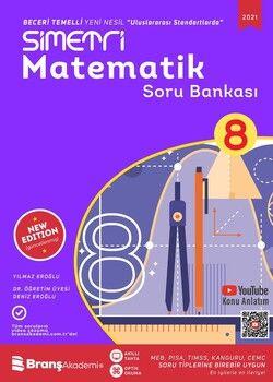 Branş Akademi 8. Sınıf Matematik Simetri Soru Bankası