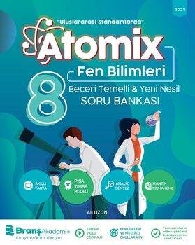 Branş Akademi 8. Sınıf Fen Bilimleri Atomix Soru Bankası