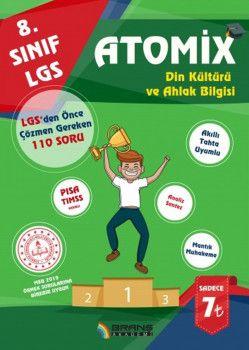 Branş Akademi 8. Sınıf LGS Din Kültürü ve Ahlak Bilgisi Atomix
