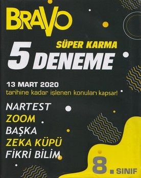 Bravo Yayınları 8. Sınıf LGS Süper Karma 5 Deneme