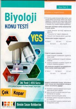 BSR Yayıncılık YGS Biyoloji Yaprak Test